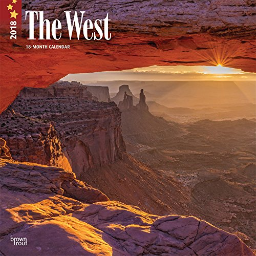 West, The 2018 12 x 12 Inch: BrownTrout Publishers