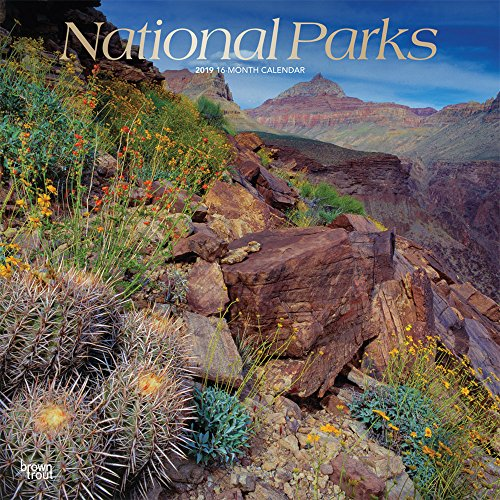 National Parks 2019 12 x 12 Inch: Inc. BrownTrout Publishers