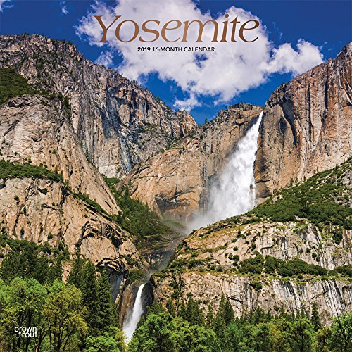 Yosemite 2019 12 x 12 Inch Monthly: BrownTrout Publishers, Inc.