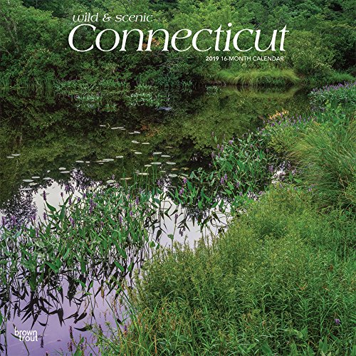 Connecticut, Wild & Scenic 2019 12 x: Inc., BrownTrout Publishers