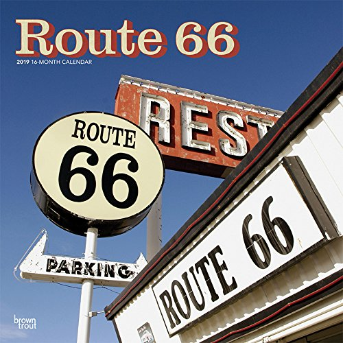 Route 66 2019 12 x 12 Inch: Inc.,BrownTrout Publishers