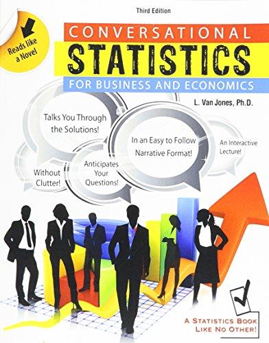 9781465201461: Conversational Statistics for Business and Economics