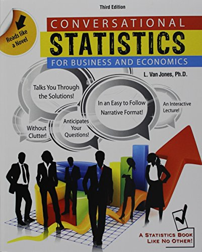 9781465201492: Conversational Statistics for Business AND Economics