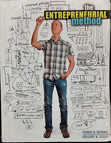 9781465201522: The Entrepreneurial Method