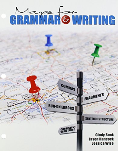 9781465202611: Maps for Grammar AND Writing