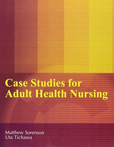 9781465202949: Case Studies for Adult Health Nursing