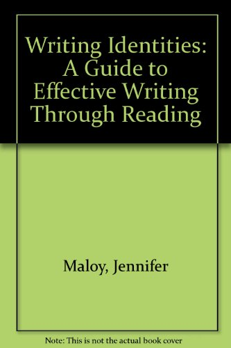 9781465203427: Writing Identities: A Guide to Effective Writing through Reading