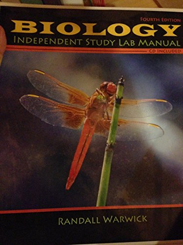 9781465203793: Biology Independent Study Lab Manual