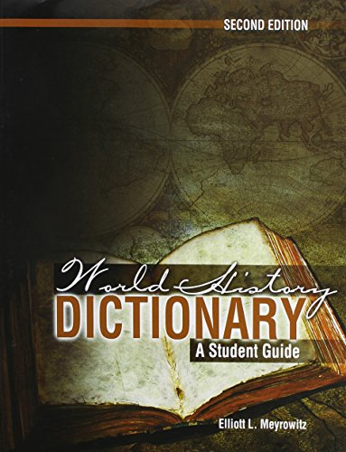 9781465205797: World History Dictionary: A Student Guide