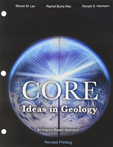 9781465206466: Core Ideas in Geology: An Inquiry-Based Approach
