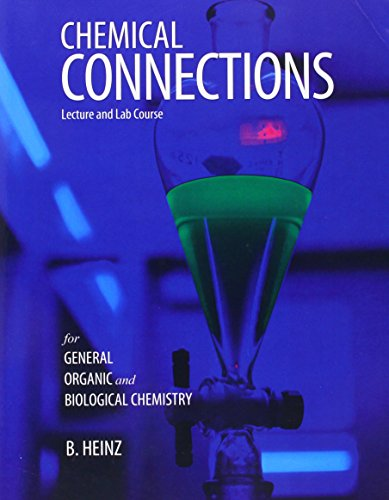 9781465207302: Chemical Connections: Lecture and Lab Course