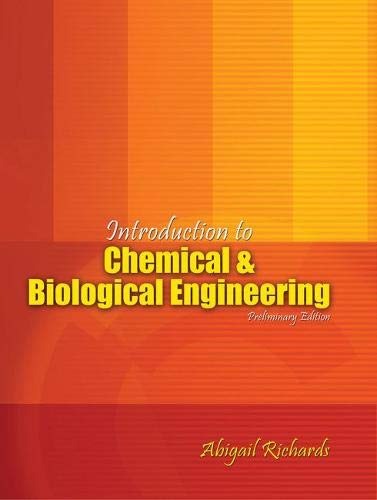 9781465209139: Introduction to Chemical and Biological Engineering
