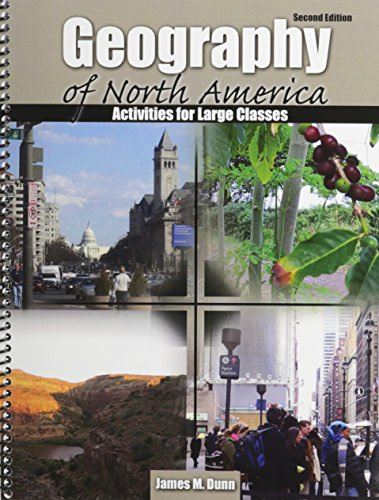 9781465210166: Geography of North America: Activities for Large Classes