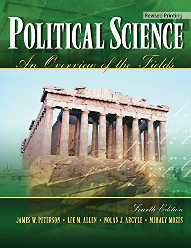 Political Science: An Overview of the Fields: ALLEN LEE M,