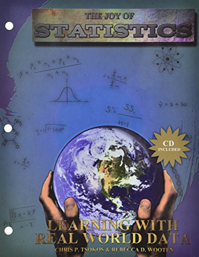 9781465214041: The Joy of Statistics: Learning with Real World Data