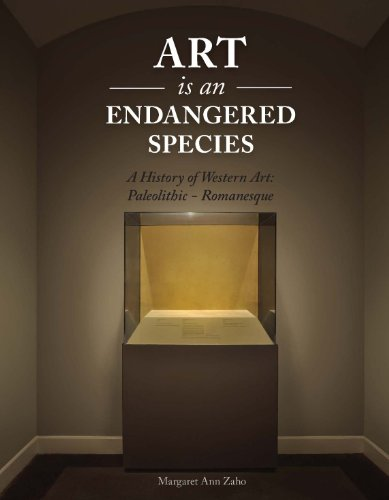 9781465214294: Art is an Endangered Species: A History of Western Art, Paleolithic-Romanesque