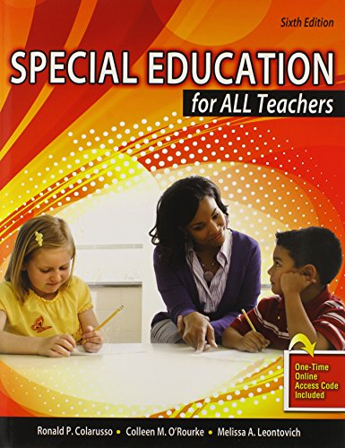 Special Education for All Teachers: P, COLARUSSO RONALD;