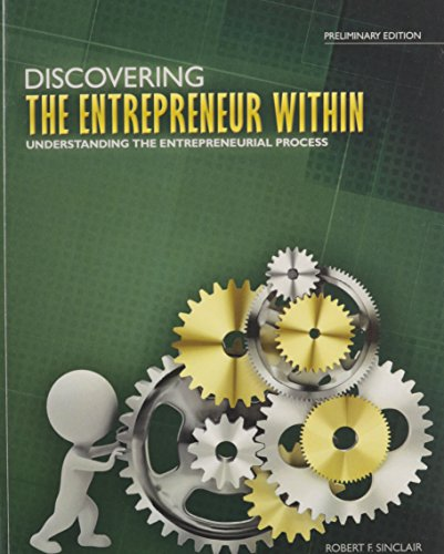 9781465216212: Discovering the Entrepreneur Within: Understanding the Entrepreneurial Process