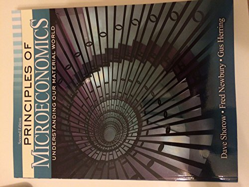 9781465218124: Principles of Microeconomics: Understanding Our Material World