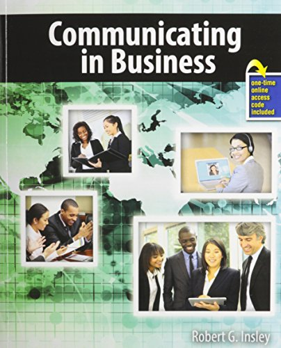 9781465218193: Communicating in Business