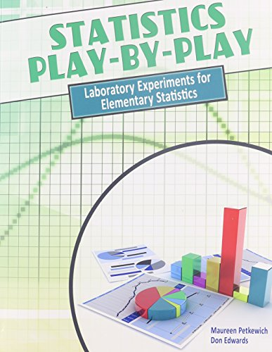 9781465218490: Statistics Play-by-Play: Laboratory Experiments for Elementary Statistics