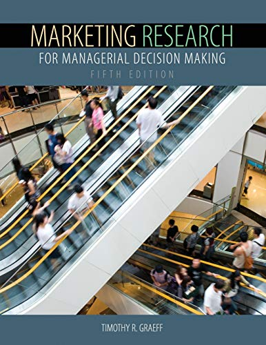 9781465219077: Marketing Research for Managerial Decision Making
