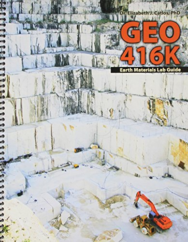 9781465219107: GEO 416K Earth Materials Lab Guide