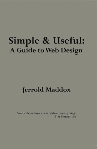 9781465219398: Simple AND Useful: A Guide to Web Design