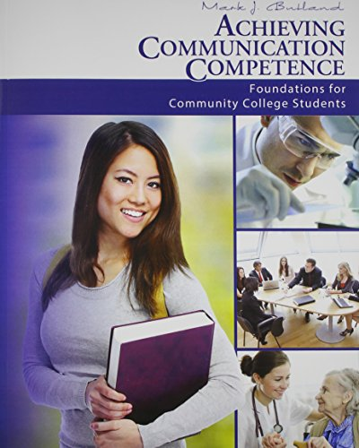 9781465220660: Achieving Communication Competence Textbook, Study Guide and Activity Manual Package