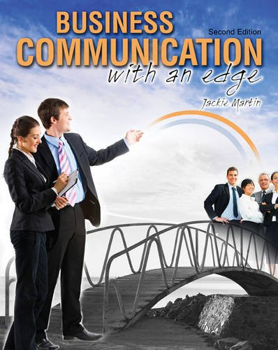 Business Communication with an Edge: MARTIN JACKIE