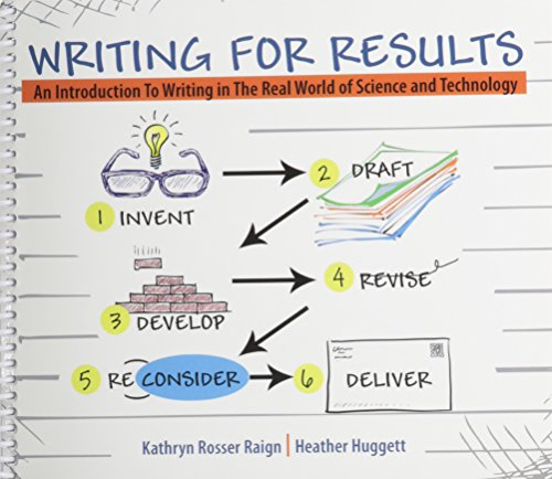 9781465224088: Writing for Results: An Introduction to Writing in the Real World of Science and Technology