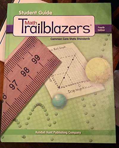 9781465224170: Math Trailblazers: Grade 4 Student Guide + 6 Year License