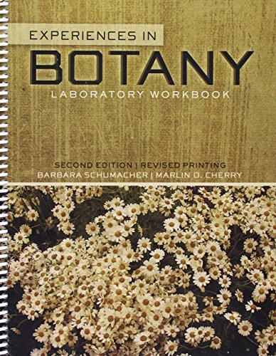 9781465224873: Experiences in Botany: Laboratory Workbook