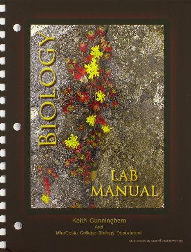 9781465225443: Biology Lab Manual