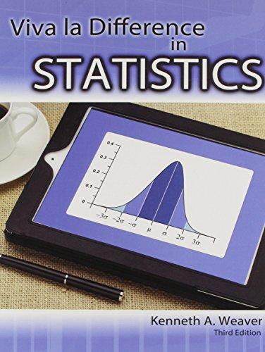 9781465225740: Viva La Difference in Statistics