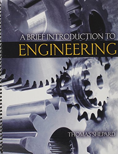 9781465226303: A Brief Introduction to Engineering