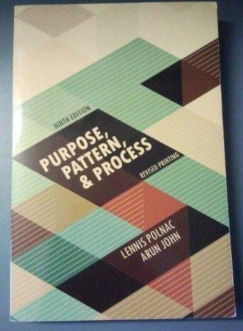 9781465226310: Purpose, Pattern, and Process