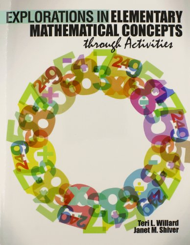 9781465226679: Explorations in Elementary Mathematical Concepts through Activities