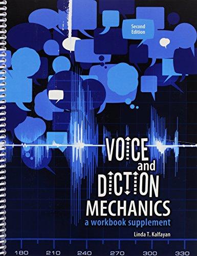 9781465227485: Voice and Diction Mechanics: A Workbook Supplement