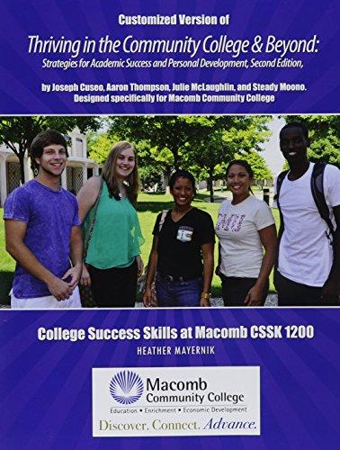 College Success Skills at Macomb CSSK 1200: Heather Mayernik