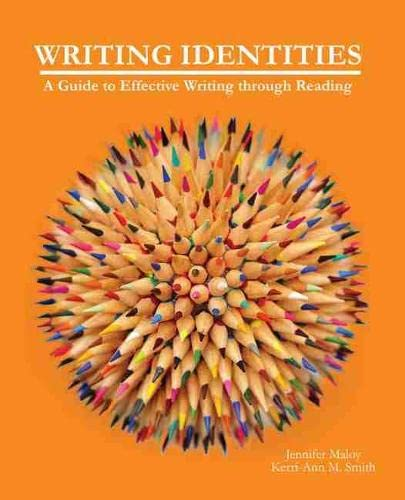 9781465229588: Writing Identities: A Guide to Effective Writing through Reading