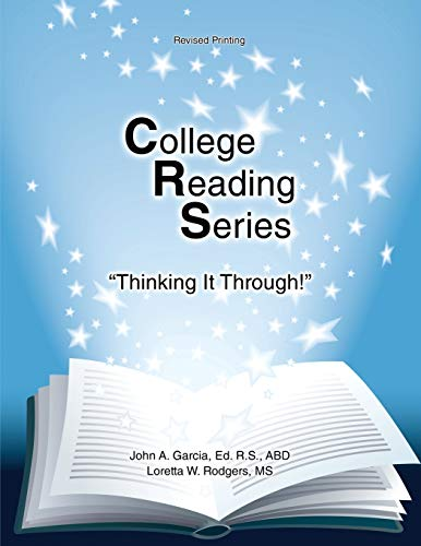 9781465231482: College Reading Series: Thinking it Through!