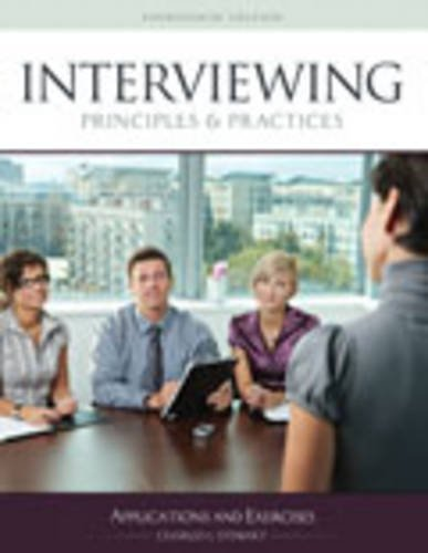 9781465234063: Interviewing Principles and Practices: Applications and Exercises