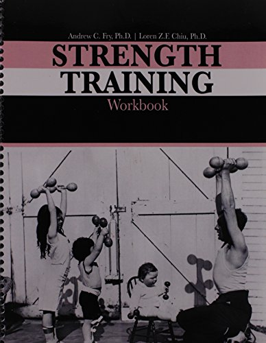 9781465234308: Strength Training Workbook