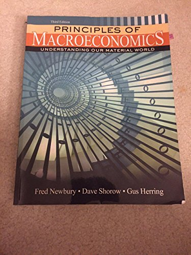 9781465236029: Principles of Macroeconomics: Understanding Our Material World