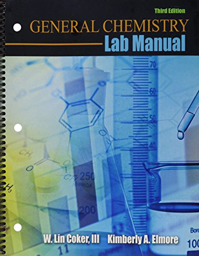 9781465236289: General Chemistry Lab Manual