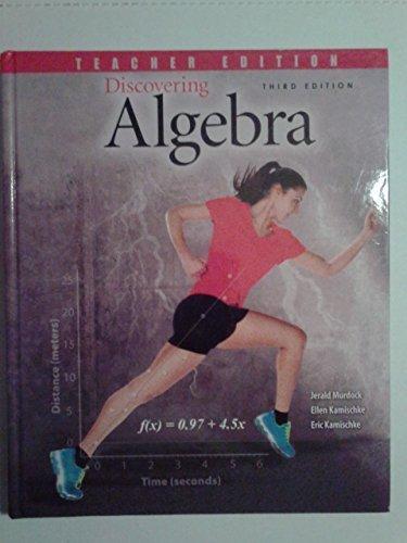 9781465239068: Discovering Algebra: An Investigative Approach - Teacher Text + 6 Year Online License