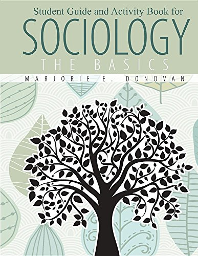 9781465239662: Student Guide and Activity Book for: Sociology: The Basics - Workbook