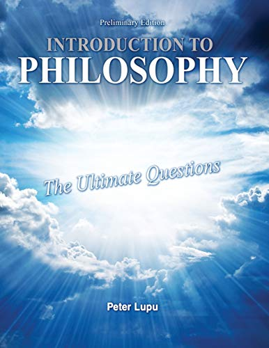 9781465247834: Introduction to Philosophy: The Ultimate Questions