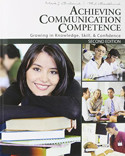 Achieving Communication Competence Textbook, Study Guide and Activity Manual Package: BUTLAND MARK